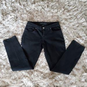 INC Black Curvy Fit Skinny Jeans 6S